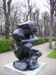 Rodin's Caryatid