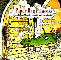 Lessons in logic, association using the Paper Bag Princess by Robert Munsch.