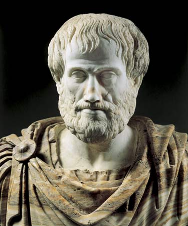 Aristotle, one of the first philosophers.