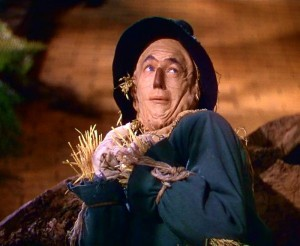 The Wizard of Oz's Scarecrow