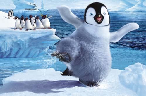 Penguins from Happy Feet