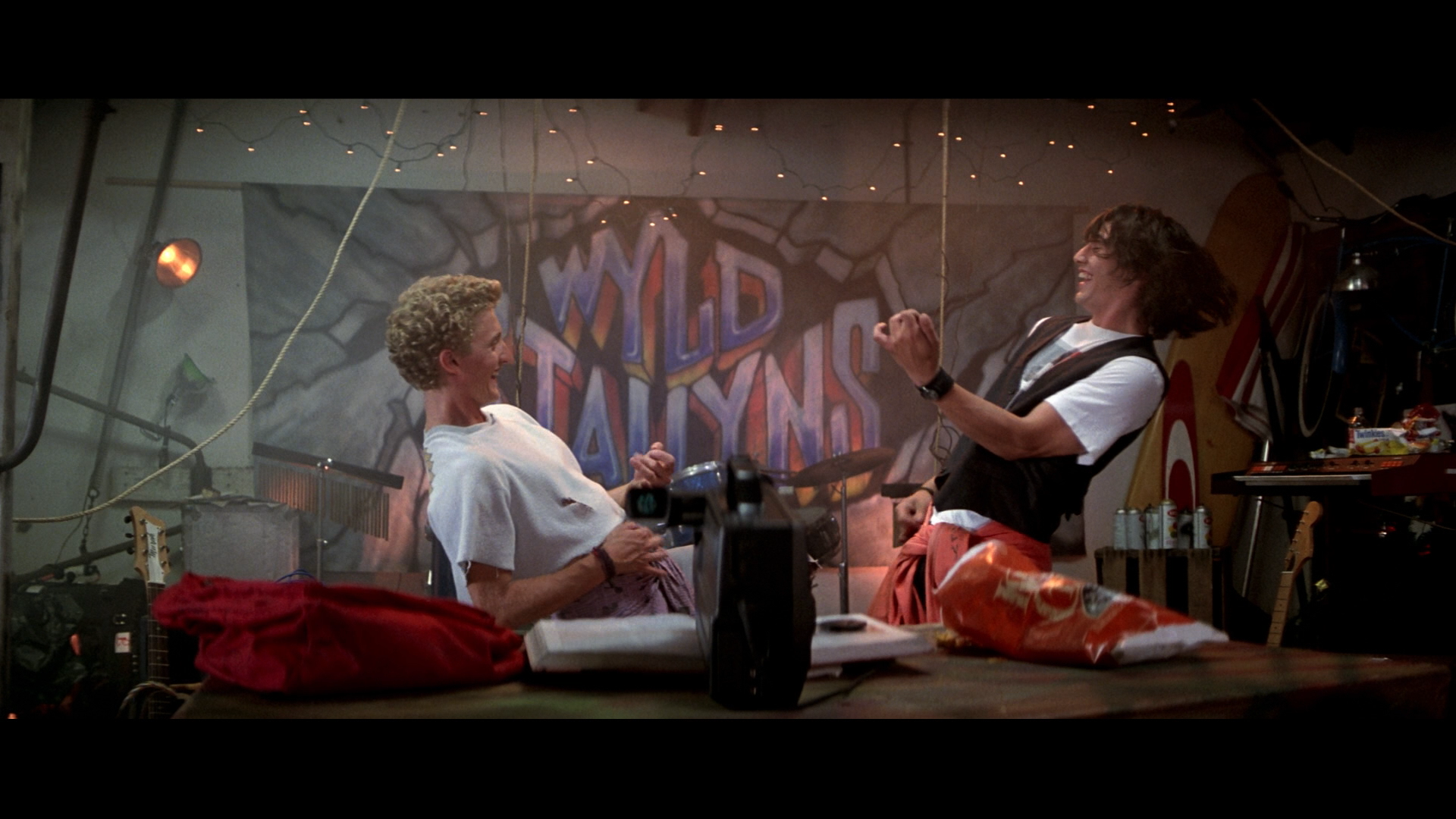 Bill & Ted on an Excellent Adventure